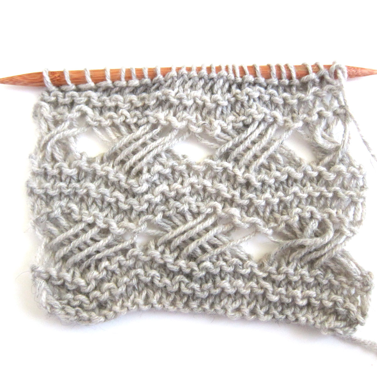Knitting Tutorial : Tutorial indian cross stitch